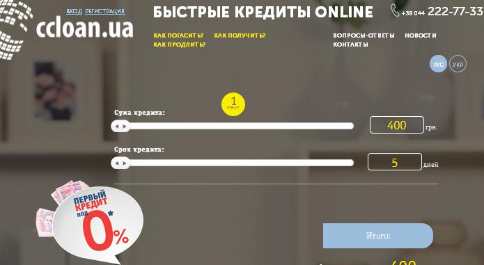 Top Credit - Кредит онлайн на любую